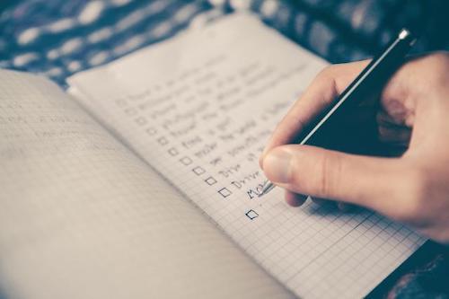 Online English Assessment Checklist